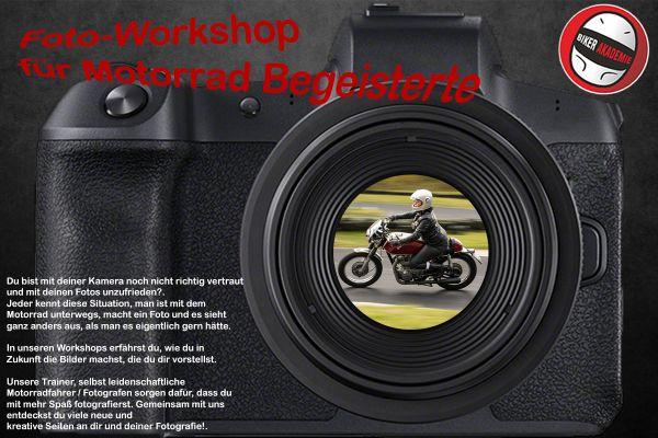 1-Tages Motorrad Foto-Workshop
