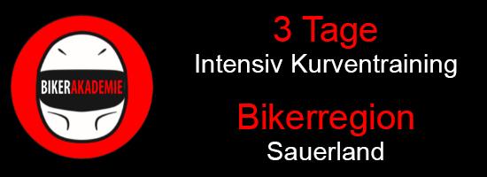 3 Tages Intensiv Kurventraining im Sauerland