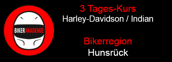 3 Tages Kurs im Hunsrück für Harley-Indian